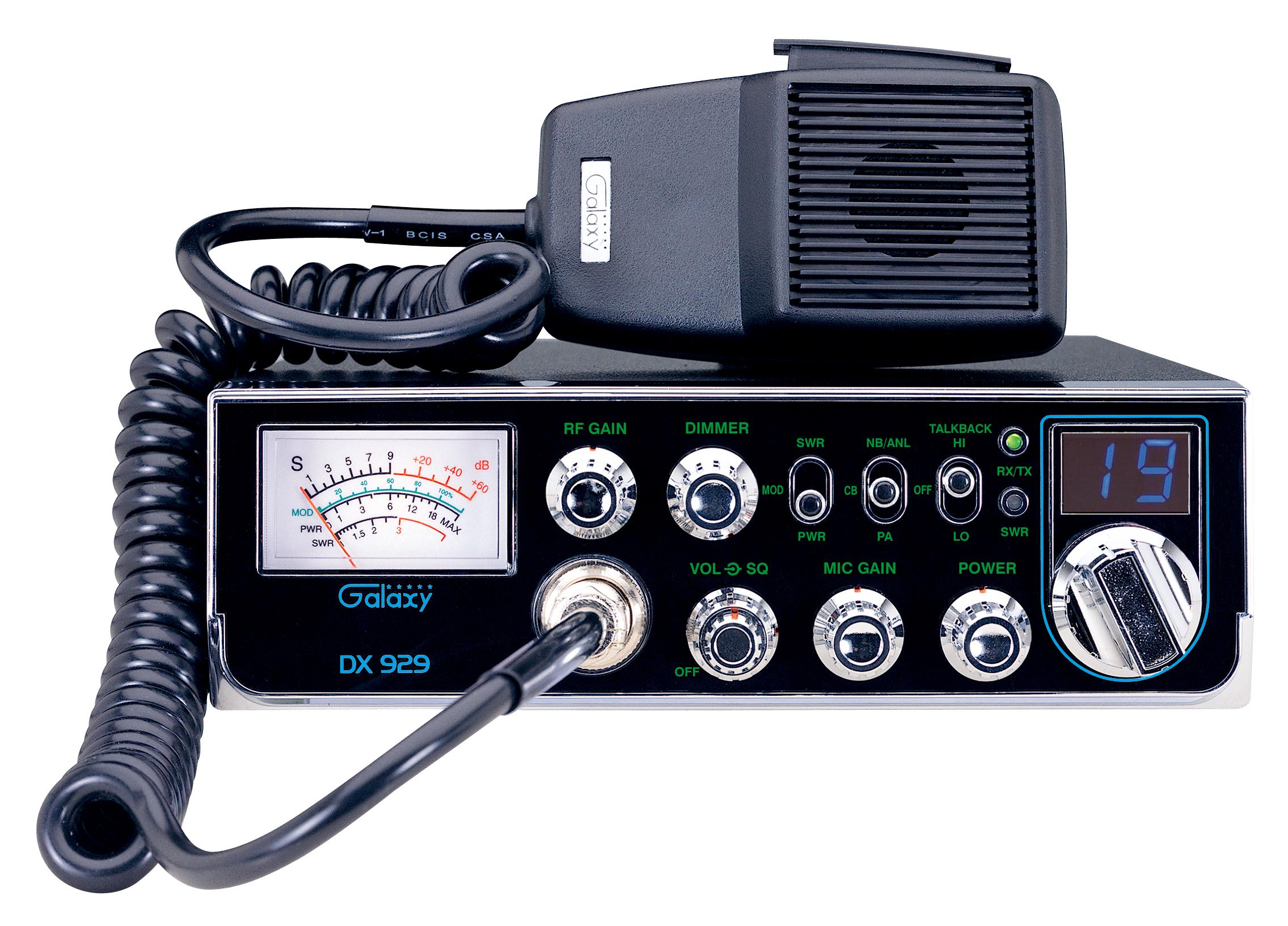 Galaxy CB Radio Model DX929 For Sale
